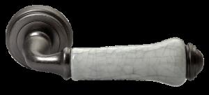 Дверная ручка MORELLI MH-41-CLASSIC OMS/GR Цвет - старое античное серебро/серый