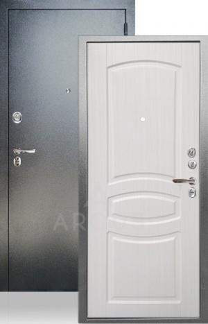 Входная дверь ДА-61 белый ясень