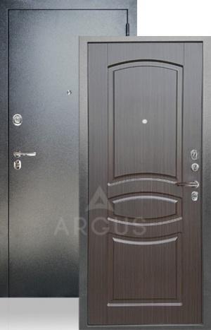 Входная дверь ДА-61 венге тисненый