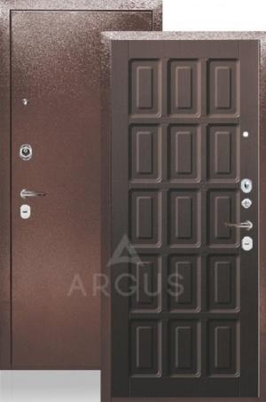 Сейф-дверь «ДА-24» Шоколад венге тисненый