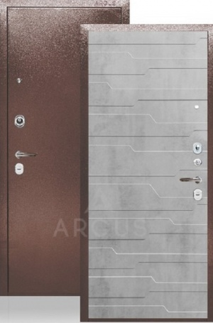 Сейф-дверь «ДА-24» Корто бетон светлый