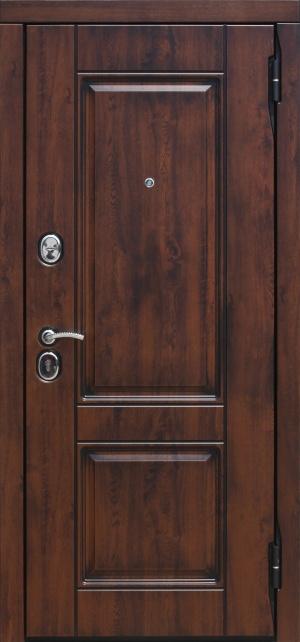 Сейф-дверь ВЕНА Патина Vinorit белый матовый