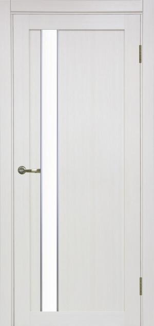 Дверь 528 АПС мат.хром мат. стекло