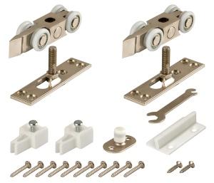 Фурнитура для одностворчатой раздвижной двери DIY Comfort 80/4 kit