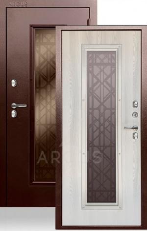 Входная уличная дверь с терморазрывом «ТЕПЛО-БРИАН NEW»