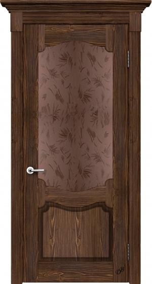 Дверь массив Византия ДО браш ст. Шале