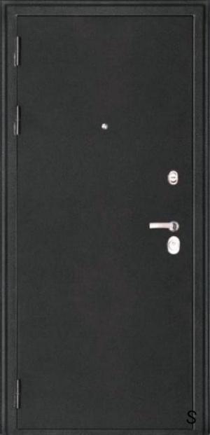 Сейф-дверь МД -701 3 лиственница шоколадная 3К