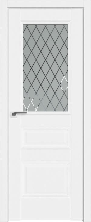 Дверь 67U аляска ст. Ромб