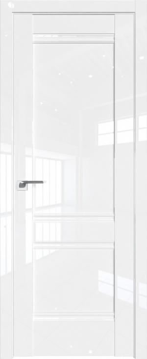 Дверь 1L белый люкс