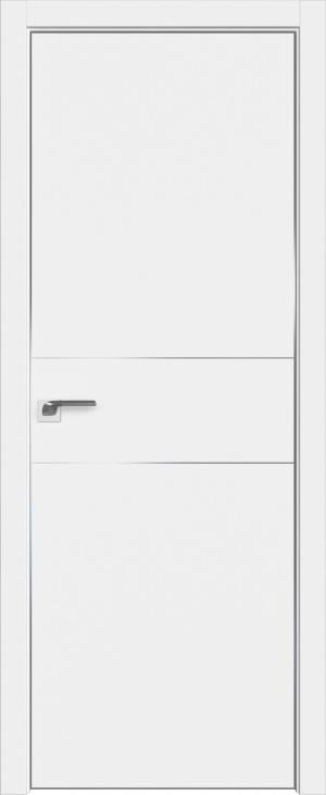 Дверь 41Е аляска матовая кромка AL вставки