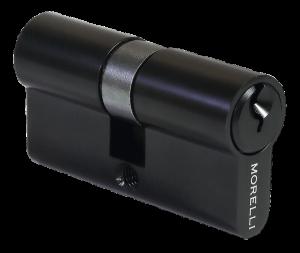 Цилиндр MORELLI ключ/ключ (60 мм) 60C BL Цвет - Черный