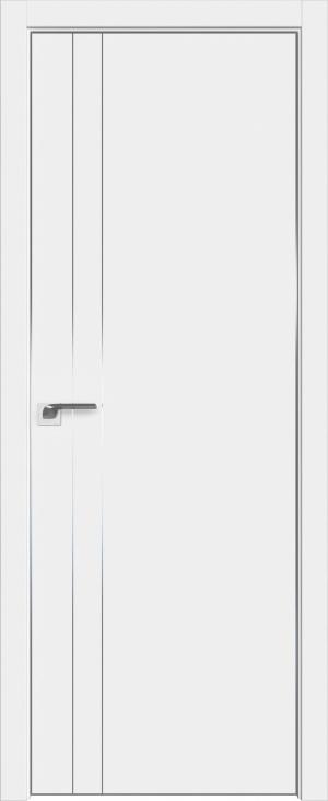 Дверь 42Е аляска матовая кромка AL вставки