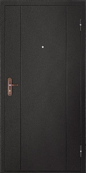 Входная дверь Форпост 51 металл/металл