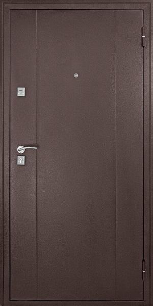 Входная дверь Форпост 73 беленый дуб