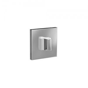 Завертка квадратная Cosmo, полированный хром