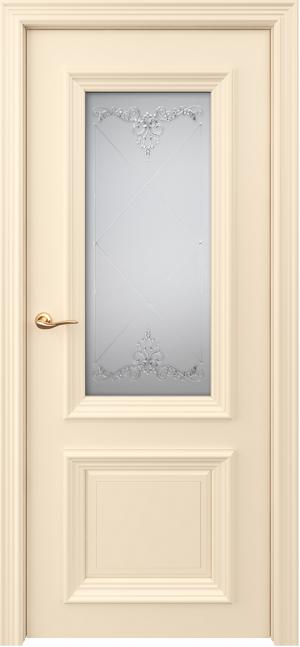 Дверь Оксфорд ст. мателюкс с контурным витражом