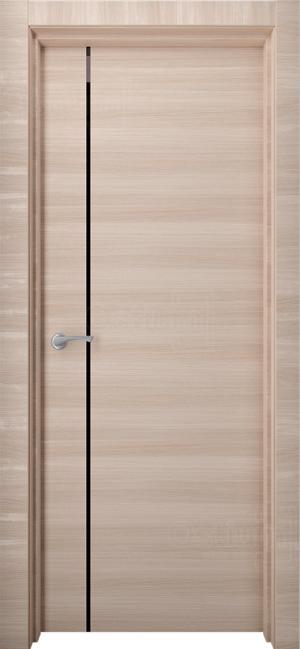 Дверь Стиль 7 ст. черный триплекс