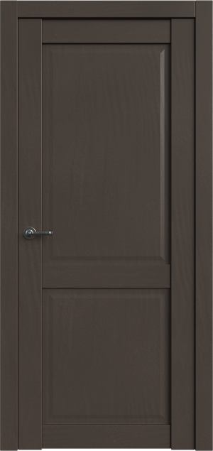 Дверь Корона 1 Сильвер софт глухая