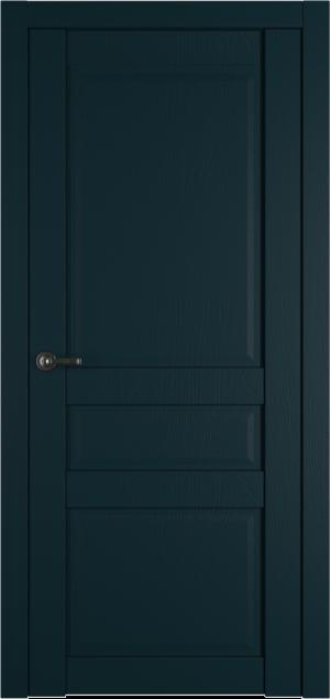 Дверь Роял 10 аквамарин глухая