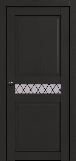 Дверь Корона 6 моренго софт ст. матовое Ромб