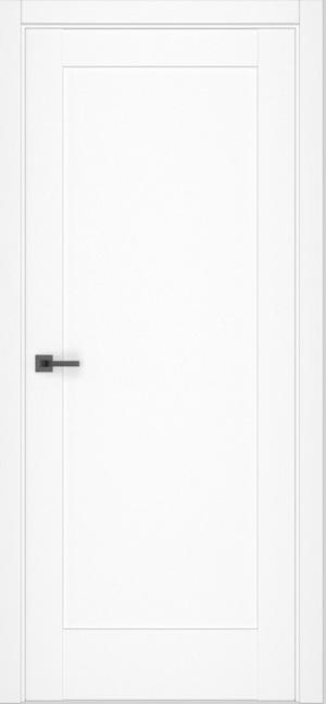 Дверь Даймонд 1 софт белый глухая