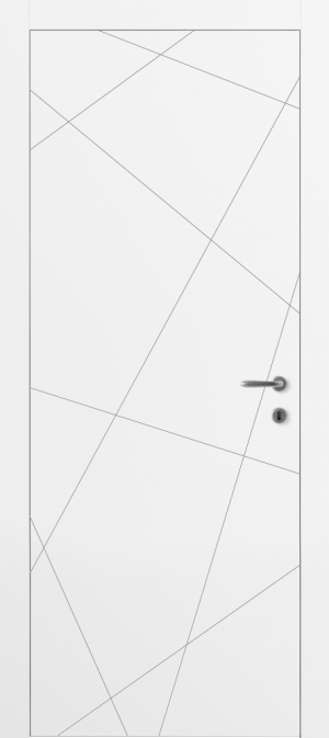 Дверь Лайн 01 белый