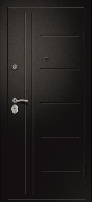 Дверь входная Аризона-217 дуб молочный