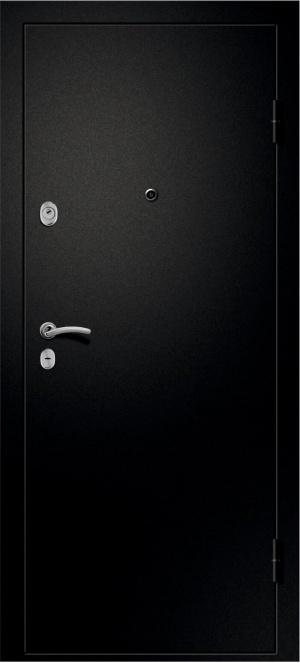 Дверь входная Медея-321 Белое дерево ст. черное