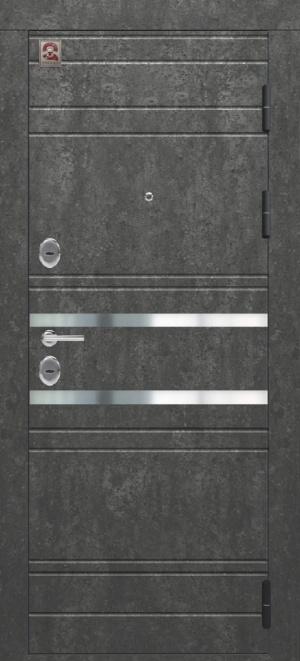 Сейф-дверь Центурион С-109 Серый камень/белый софт