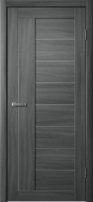 Дверь 201 ясень графит ст. матовое