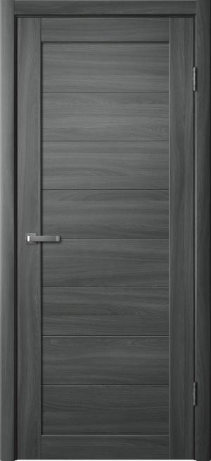 Дверь 242 ясень графит ст. матовое