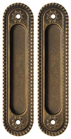 Ручка Armadillo для раздвижных дверей SH010/CL BB-17 Коричневая бронза