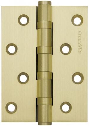 Петля универсальная  4500C (500-C4) 100x75x3 SG Мат золото Box