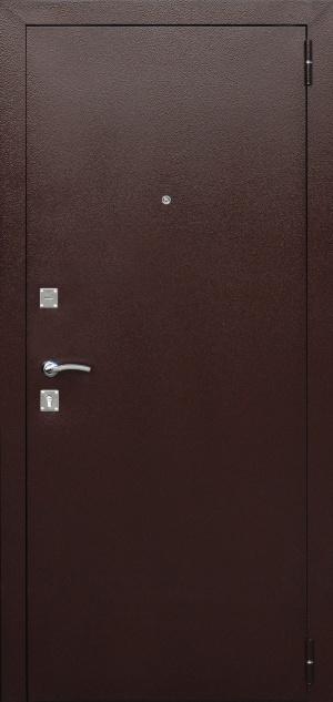 Входная дверь Доминанта беленый дуб гладкая