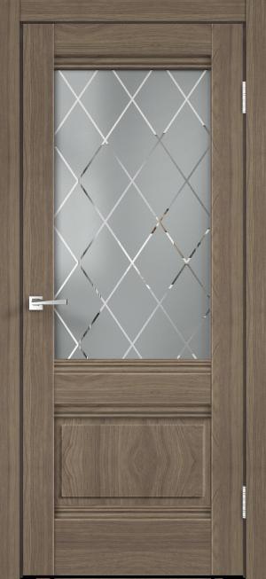Дверь ALTO 2V ильм европейский ст. Ромб светлое