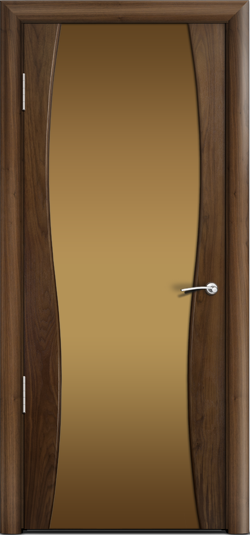 Дверь Омега 1 ст. бронза
