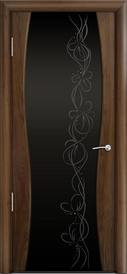 Дверь Омега 1 ст. Фантазия черное