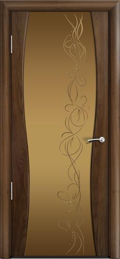 Дверь Омега 1 ст. Фантазия бронза