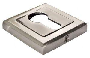 Накладка MH-KH-S белый никель / черный никель