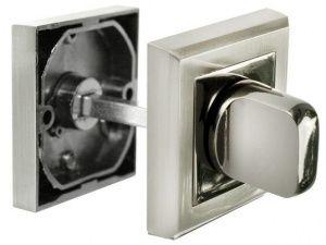 Завертка MH-WC-S белый никель / черный никель