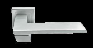 Дверная ручка MORELLI GVI MH-29 SC/CP-S матовый хром/полированный хром