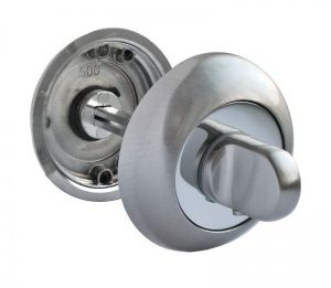 Завертка RAP WC SN/CP никель/полированный хром