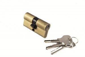 Цилиндр ключ/ключ 60C AB Цвет Античная бронза