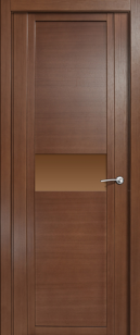 Дверь Qdo H ст. бронза
