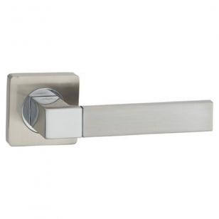 Дверная ручка ONYX Бари матовый никель