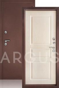 Сейф дверь Аргус Тепло 5 беленый дуб