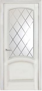 Дверь Криста лайт стекло Готика