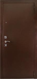 Входная дверь 67 зеркало венге