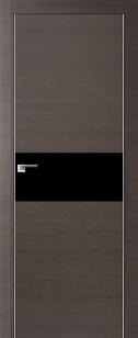 Дверь 4Z вставка черный лак