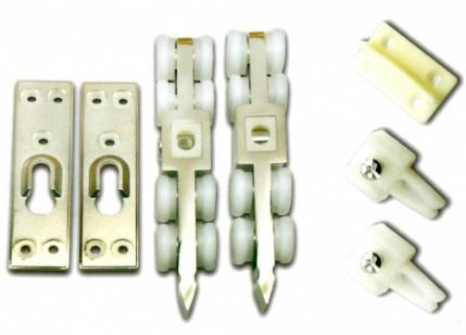 Фурнитура для одностворчатой раздвижной двери (усиленн)